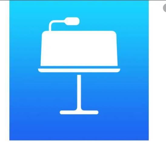 make slideshow on mac keynote