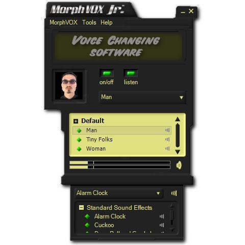 morphvox jr interface