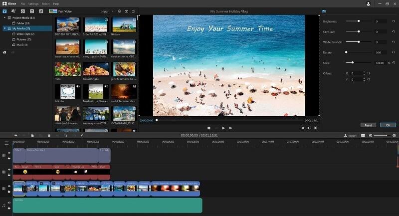 multi editing options