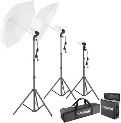neewer umbrella light