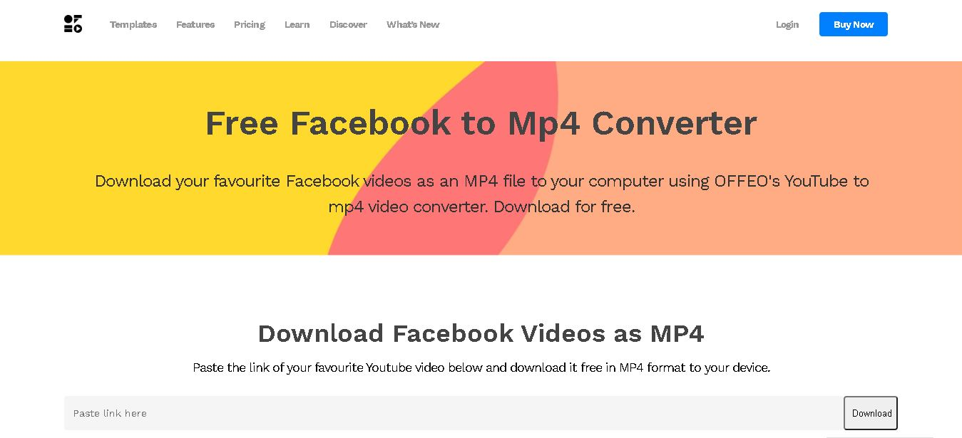 offeo facebook video converter