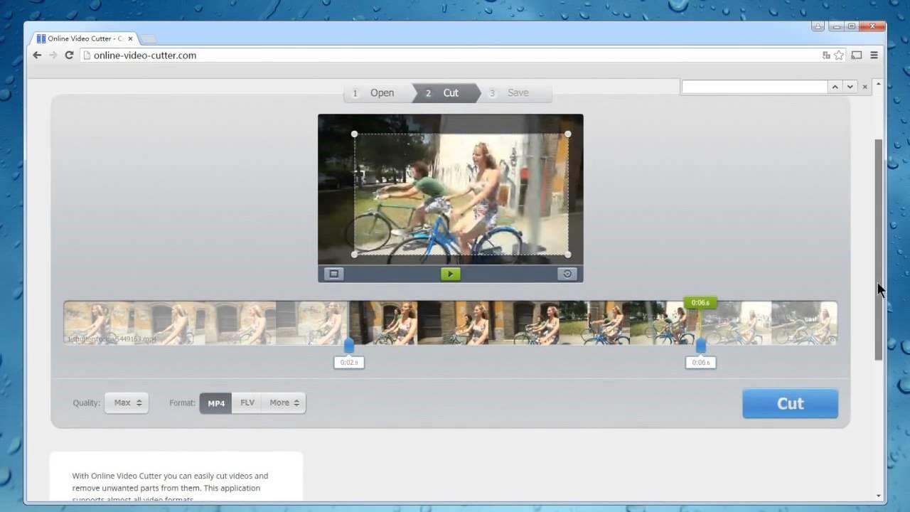 online video cutter trim