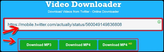 online video downloader for twitter