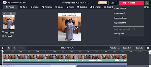 kapwing trim video more features tiktok videos