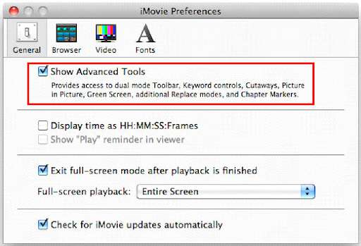 How to Make Picture in Picture in iMovie 9/11
