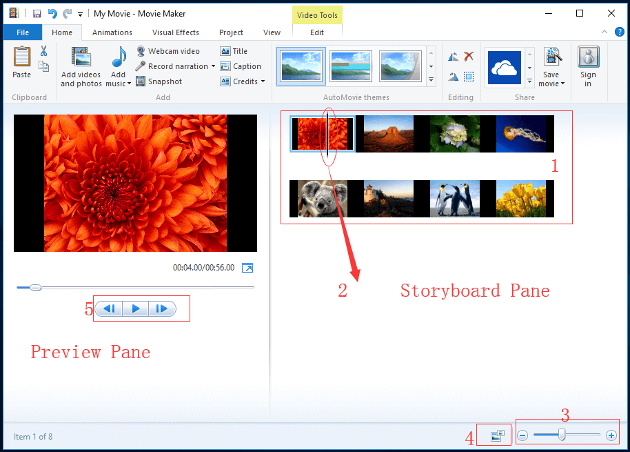 How to Make Picture-in-Picture Effect in Windows Movie Maker