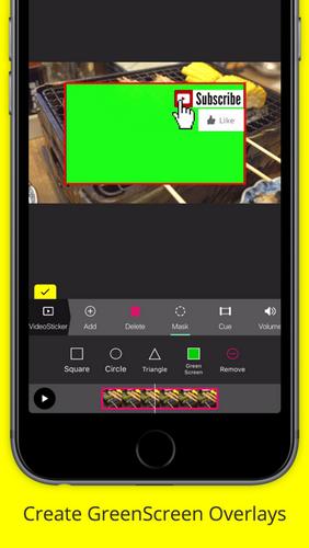 pocketvideo green screen