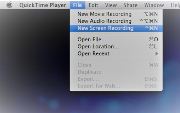 quicktime gameplay recording software