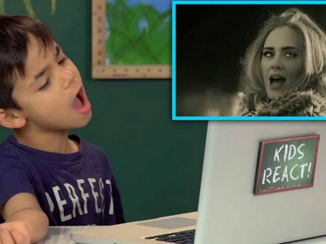 reactions kids video ideas