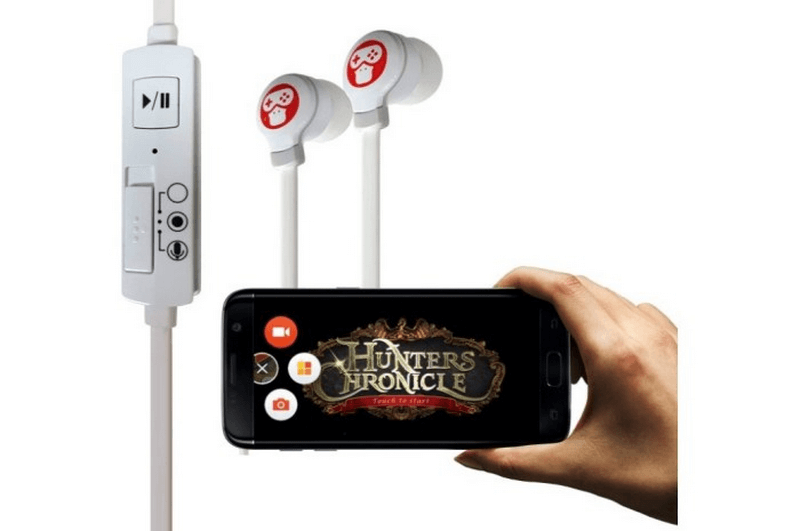 record internal audio through earphones