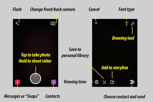 record video in snapchat