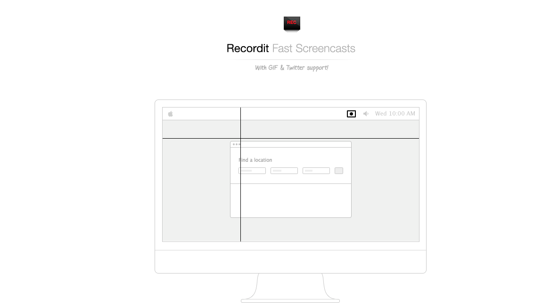 recordit interface