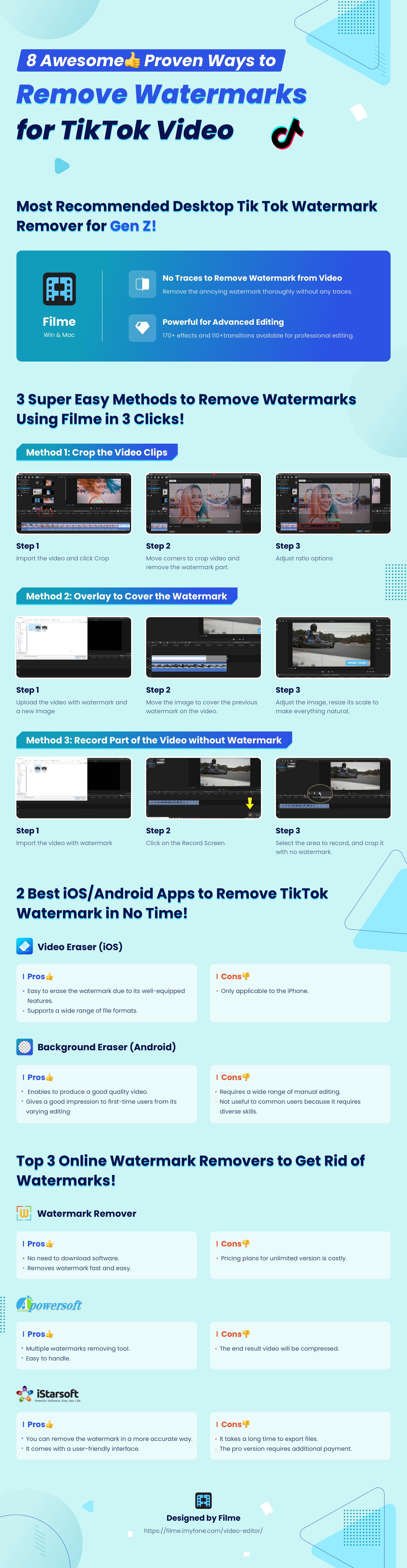 remove tiktok video watermark