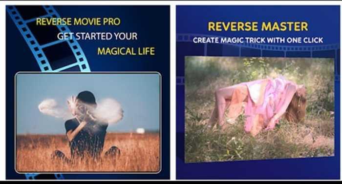 reverse video master