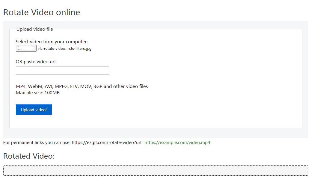 rotate video ezgif