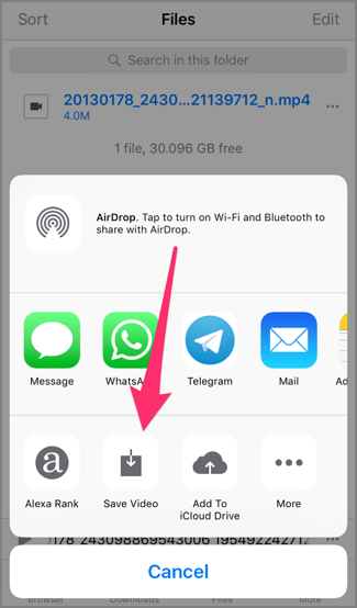 how to save videos to my phone from facebook in an easy way