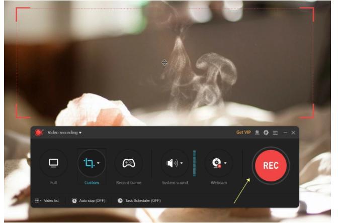 screen record on ipad apowerrec