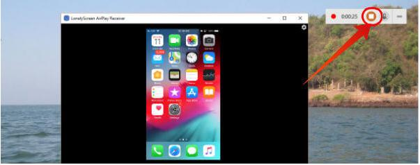 screen record on ipad via windows 10