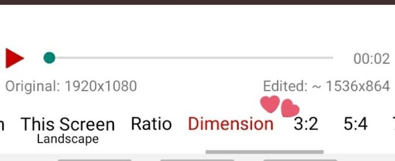 search the dimension