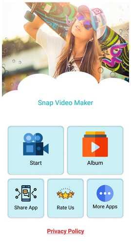 snap video maker