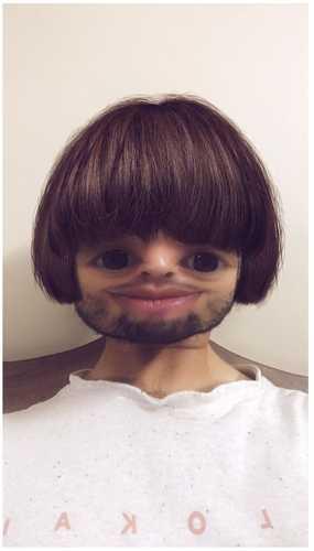 snapchat bot haircut filter