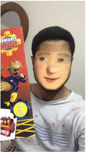 snapchat face swap filter