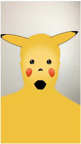 snapchat surprised pikachu filter