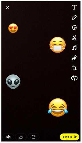 snapchat videos emoji