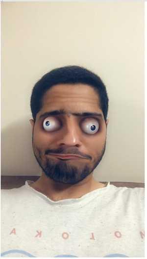 snapchat zombie eyes filter