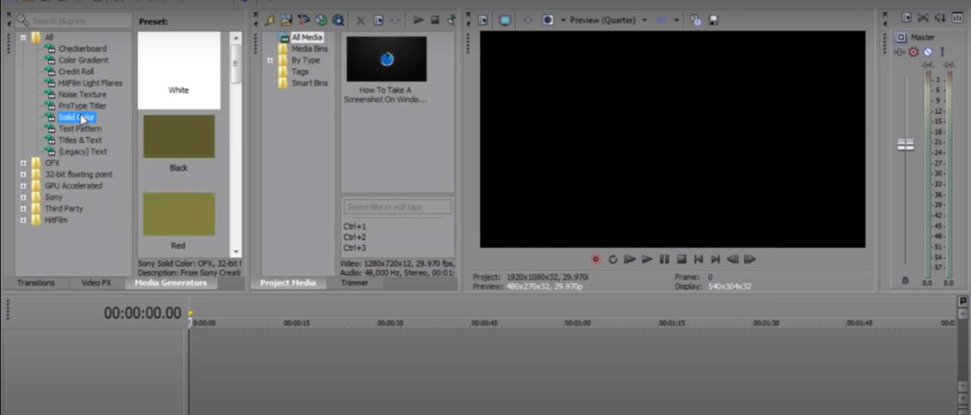 How to Resize a Video in Sony Vegas