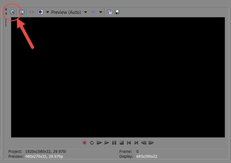 sony video properties
