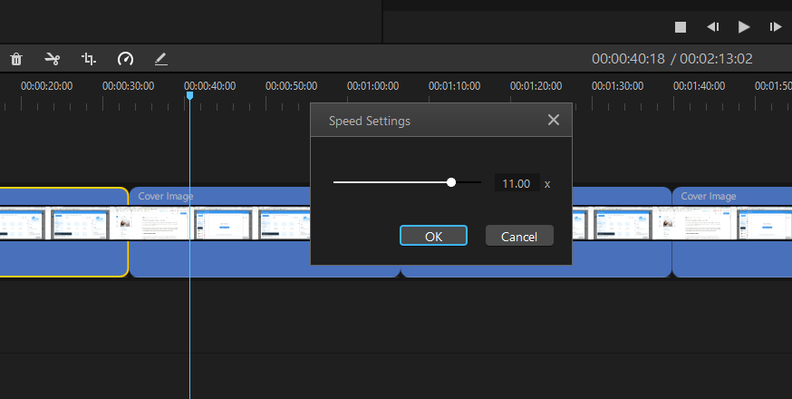 How to Speed Up Video Using filme