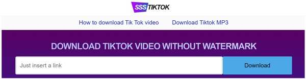 ssstiktok online downloader