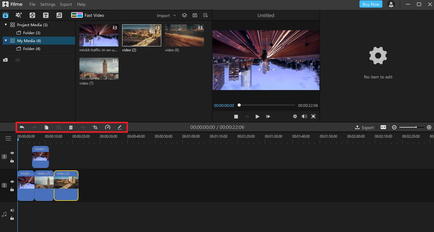 how to make youtube video with filme