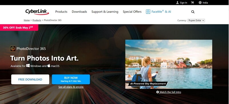 the best slideshow makers cyberlink photodirector