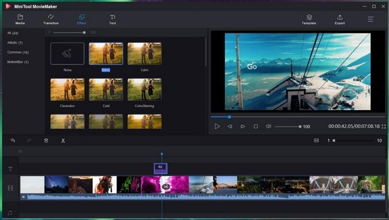 the best slideshow makers minitool moviemaker