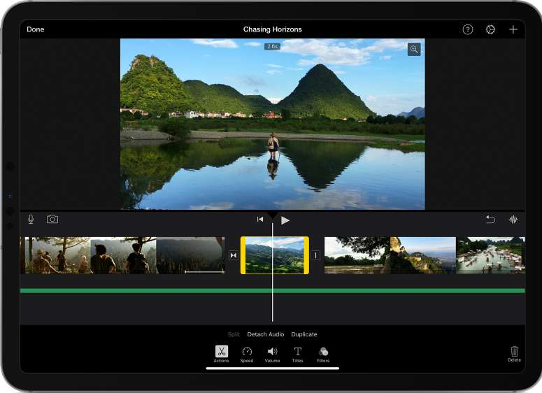 How to Trim Video in iMovie on iPhone or iPad