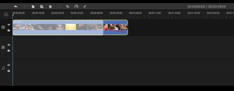 trim the video