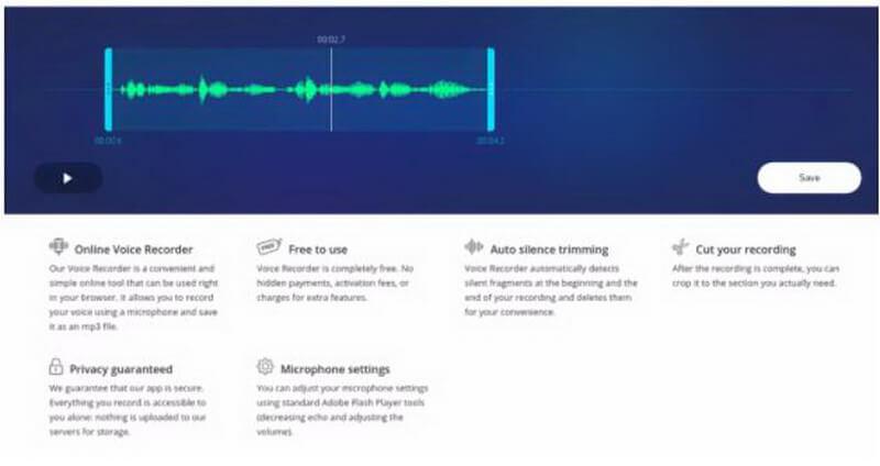 twistedwave audio recording option