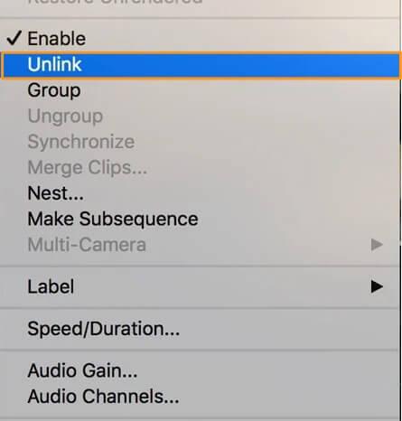 unlink-audio-premierepro
