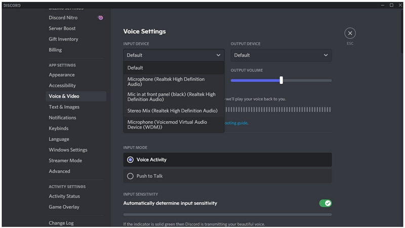 use voicemod with discord computer