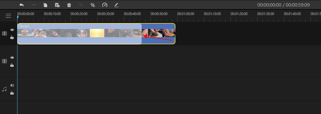 trim video clips