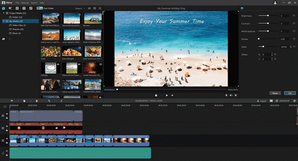 video editor imyfone