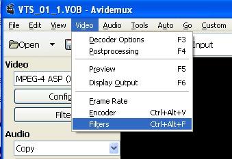 resize video in imove alternative avidemux