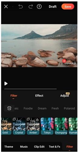 vivavideo filters