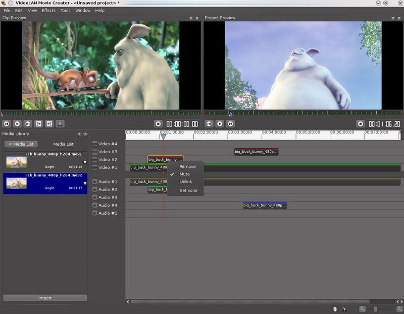 vlc video editor