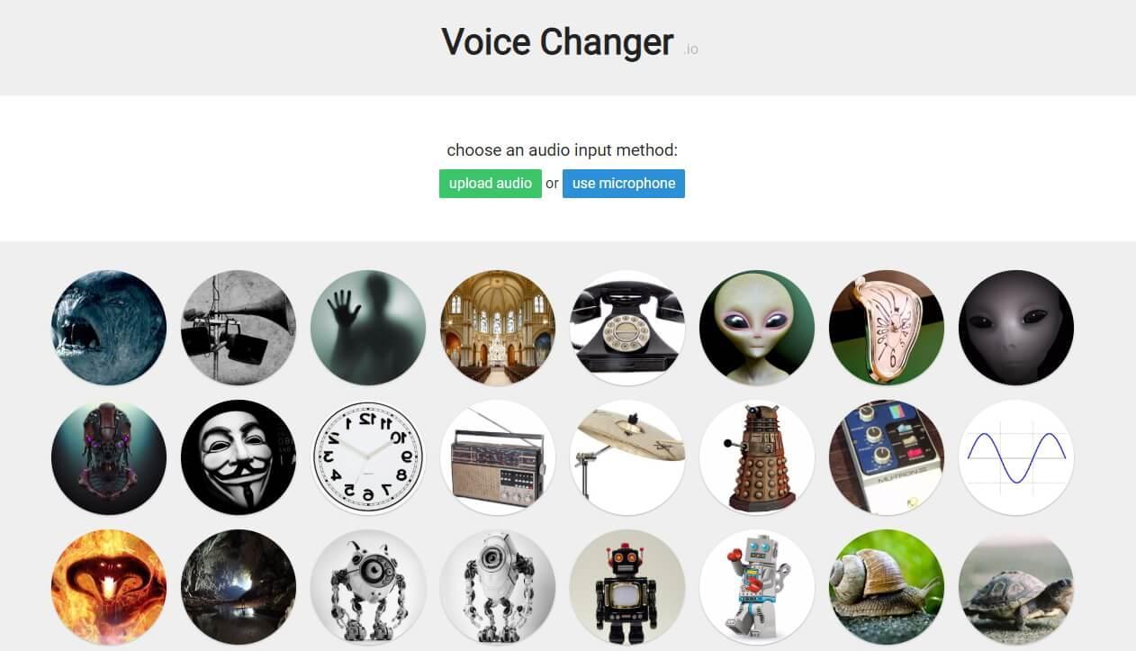 voice changer website to change voice online