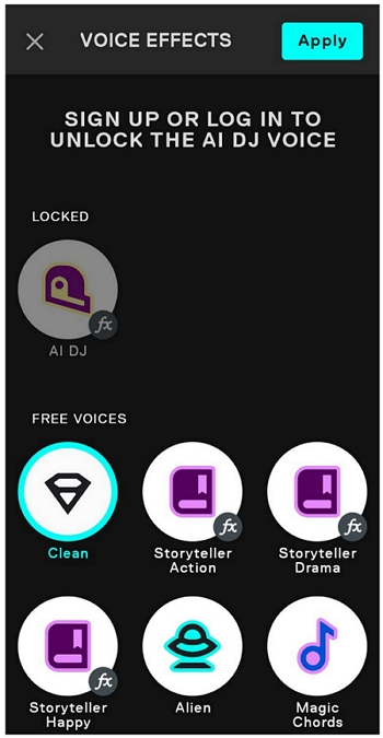 voicemod clips app filters