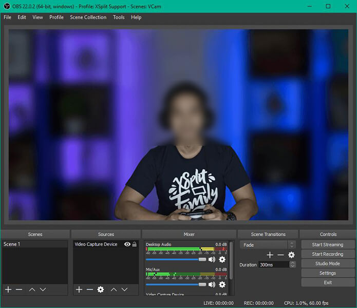 xsplit live screen recorder