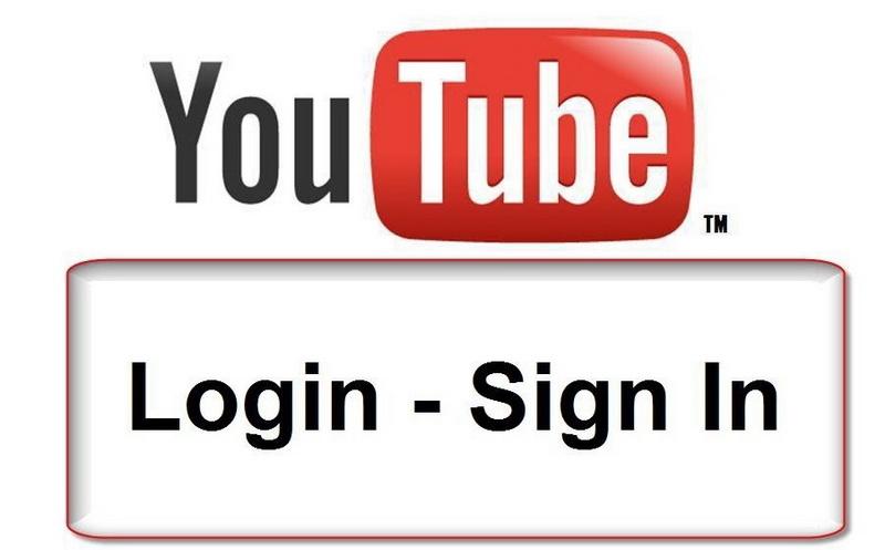 youtube login